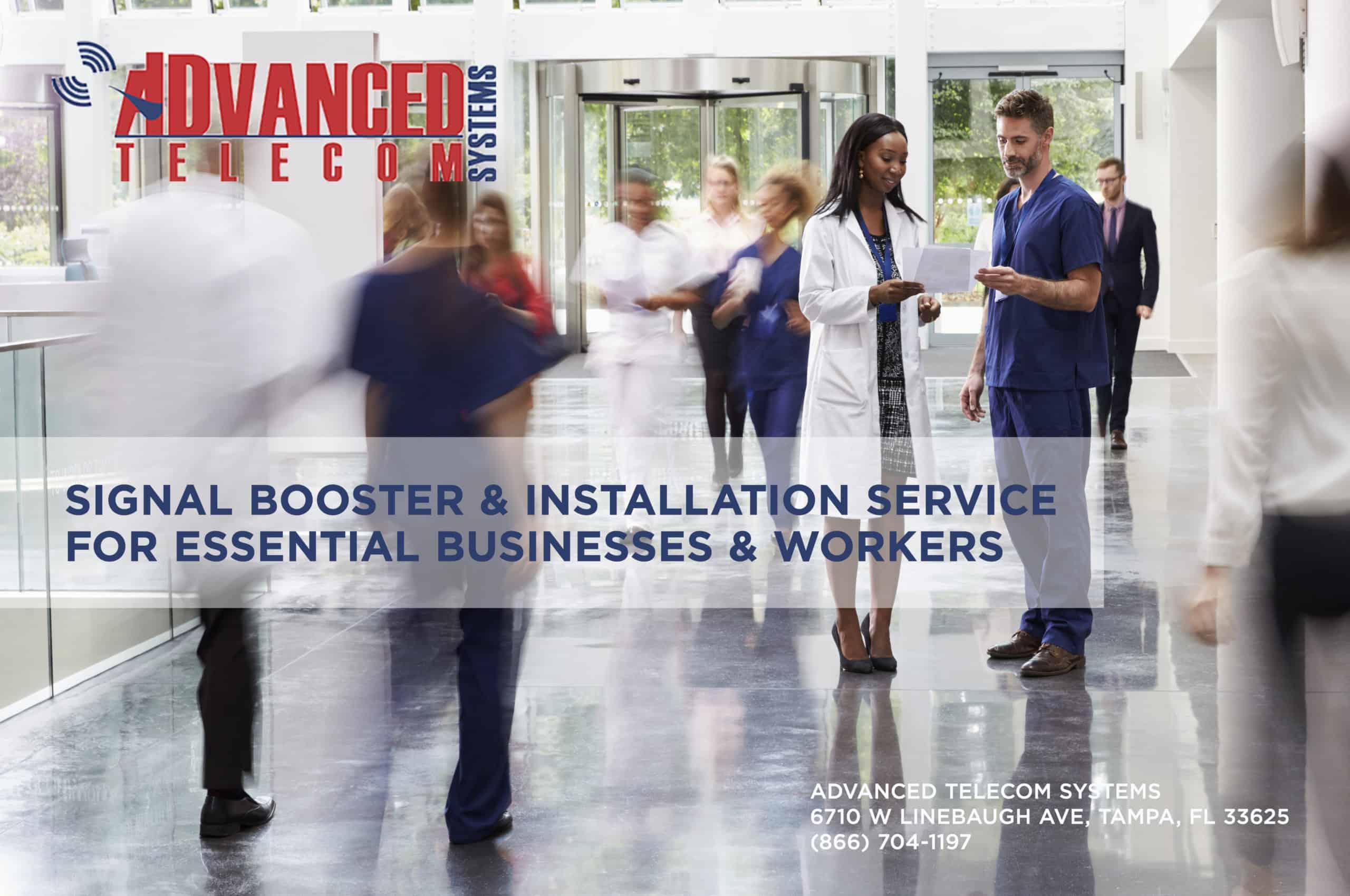 signal booster & installation service